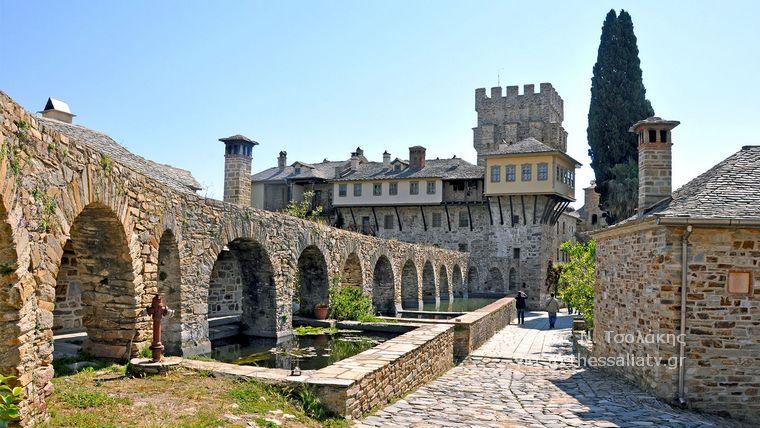 Οδοιπορικό στα μοναστήρια της ανατολικής πλευράς του Αγίου Όρους (Μονή Σταυρονικήτα)
