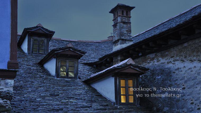 Ένα βράδυ στη μονή της Μεγίστης Λαύρας στο Άγιο Όρος